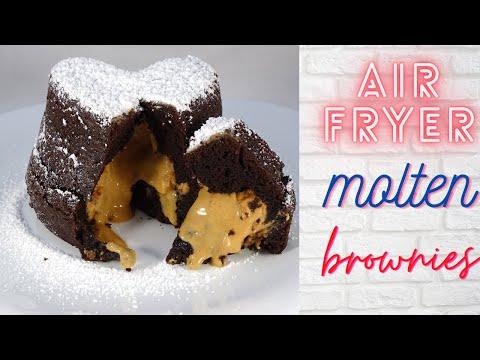 air-fryer-peanut-butter-chocolate-molten-brownies