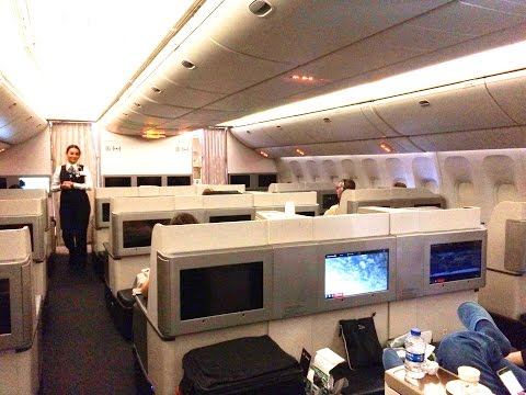 Turkish Airlines Boeing 777-300ER Business Class Review