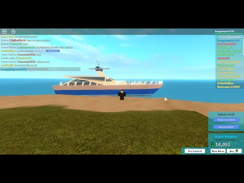 Roblox Tutorial #2 How to get to Widgeon's lair (Yacht)
