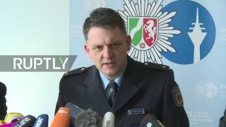 LIVE: German police hold press conference following axe attack at Dusseldorf train station