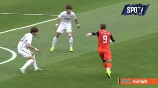 2015 K리그 챌린지 44R 강원FC vs 서울이랜드FC 하이라이트