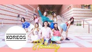 Video [Koreos] Girls' Generation 소녀시대 (SNSD) - Holiday Dance Cover 댄스 커버 영상 download MP3, 3GP, MP4, WEBM, AVI, FLV November 2017