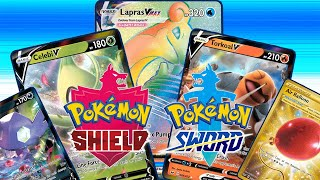 Pokemon Trading Card Game Online Sword and Shield Card Pack Opening | RAINBOW VMAX LAPRAS!!!
