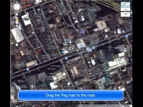 Google Maps Tourist Attraction Place in Bangkok (Silom Street) For Songkran Festival!