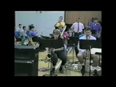 Shelby County High School Jazz Band May 1992