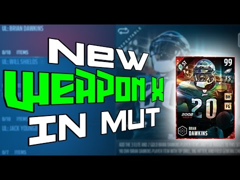 NEW UL WEAPON X HE LOOKS INSANE PLUS NEW UL WILL SHIELDS!!!!