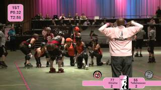 Roller Derby: 2012 WFTDA South Central Region Playoffs Omaha vs Tallahassee