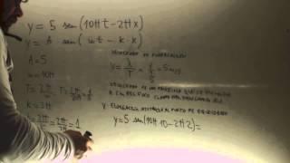 Onda armonica 03 Calcular velocidad Fisica 2 Bachillerato Academia Usero Estepona