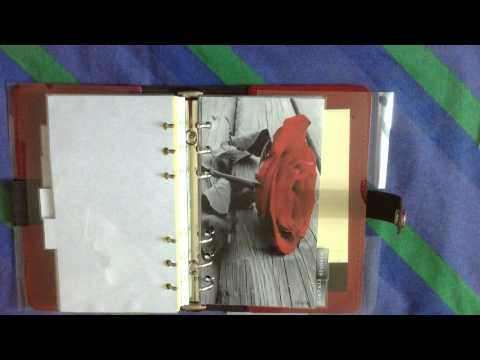 Filofax Original Red Pillarbox - Organization & customization
