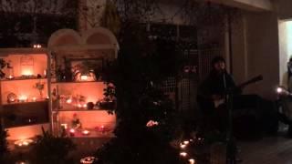 2015年12月19日に米子市四日市商店街「あをん」冬至のキャンドルナイト...