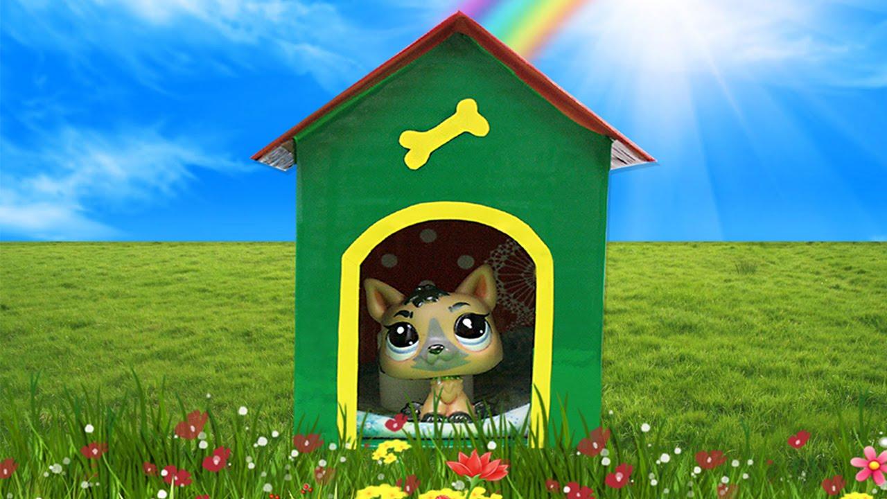Как сделать дом из коробки для лпс 839