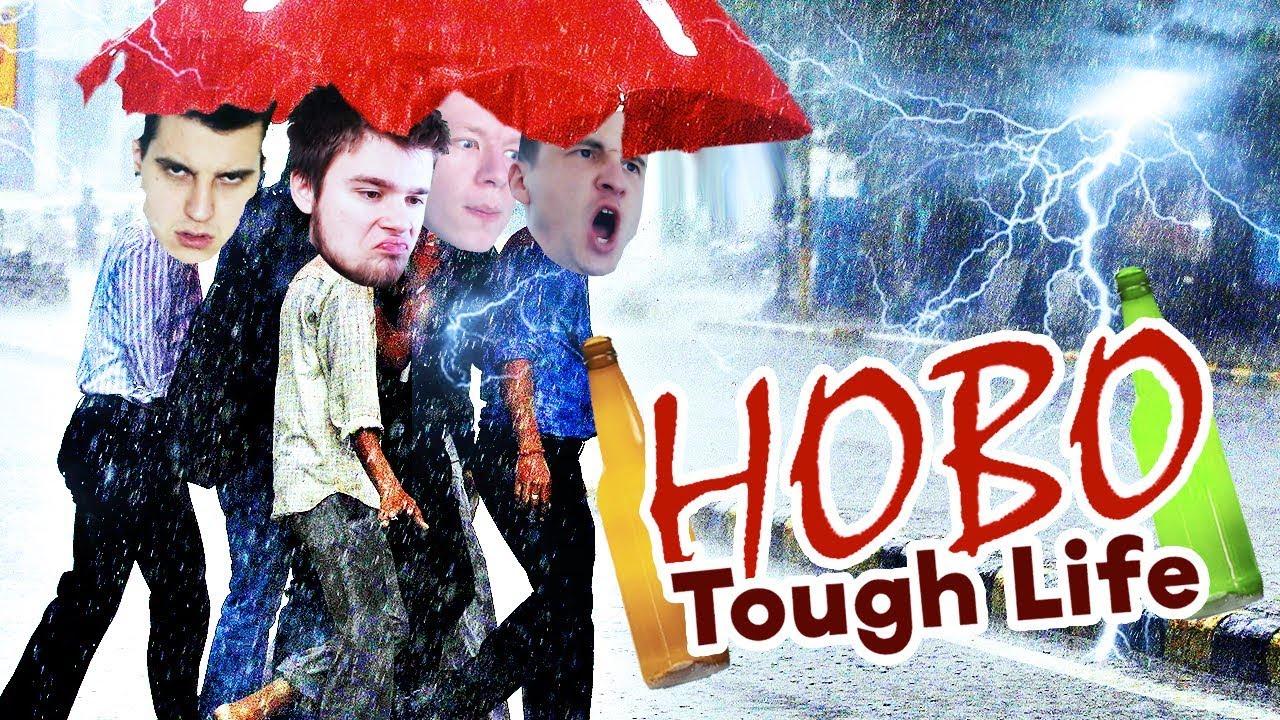ZMOCZYŁO NAS – NAJWIĘKSZA BURZA! | Hobo Tough Life [#5] (With: Dobrodziej, Plaga, Kiszak)