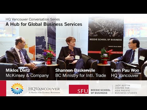 HQ Vancouver - Global Business Services - Panel Discussion