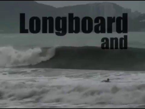 Surf no Guaruja e longboard no Guarujá - Session II