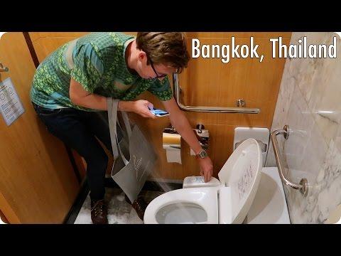 Weird Toilets in Bangkok Thailand | Evan Edinger Travel