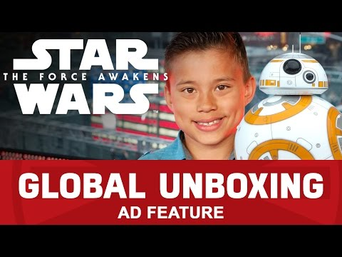 Sphero BB-8 and LEGO Star Wars Millennium Falcon – Star Wars: The Force Awakens Global Toy Unboxing