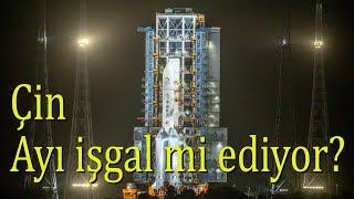 Çin Ay'a roket gönderdi