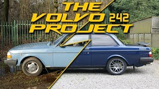 THE VOLVO 240 PROJECT SO FAR!!