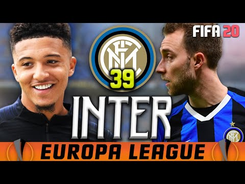 Carriera Allenatore INTER | MIRACOLO IN EUROPA LEAGUE! [Fifa 20 Ep39]