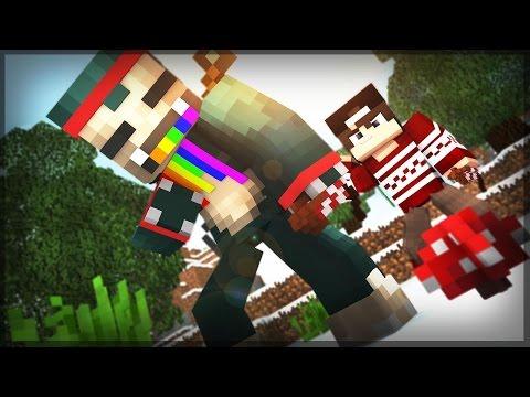 Duplo Kangaroo ft.BatataFreitas // MineCraft - HardCoreGames