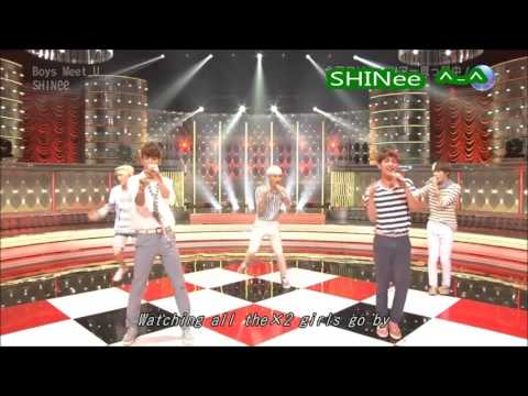 SHINee - Boys Meet U - Live