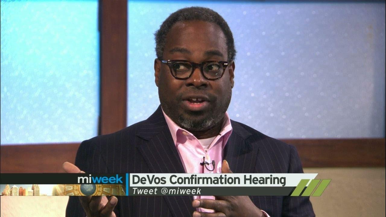 DeVos Confirmation Hearing | MiWeek Clip - YouTube