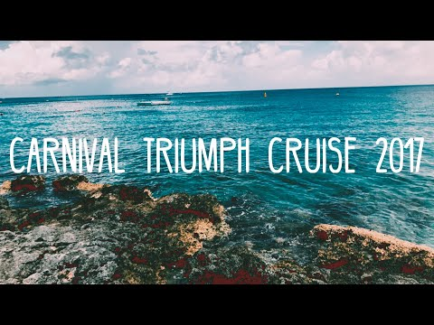 Carnival Triumph Cruise 2017