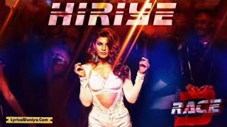 Heeriye - DJ song || Race 3 mashup || Race 3 full DJ Song