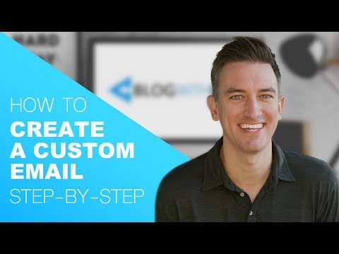 How To Create A Custom Email Using Your Domain - Step-by-Step Tutorial