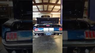 1965 Ford Mustang Fastback V10 6.8L Restomod Startup