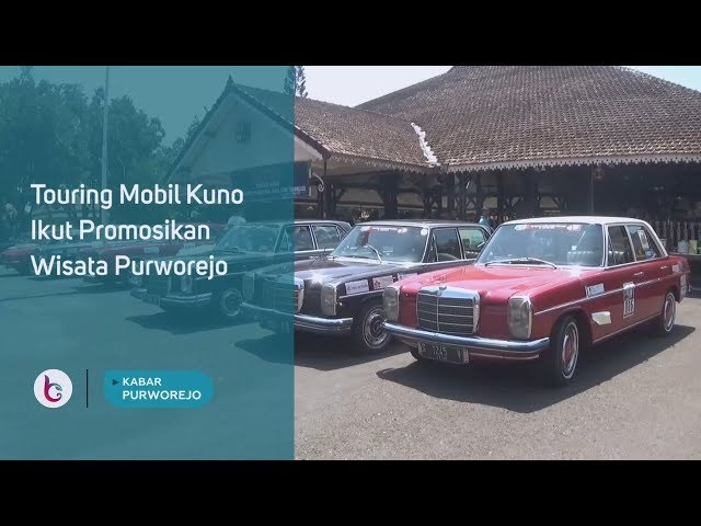 Touring Mobil Kuno Ikut Promosikan Wisata Purworejo