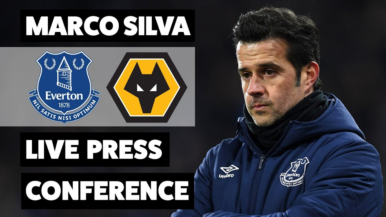 LATE FITNESS TESTS FOR BAINES AND GANA   EVERTON V WOLVES PRESS CONFERENCE