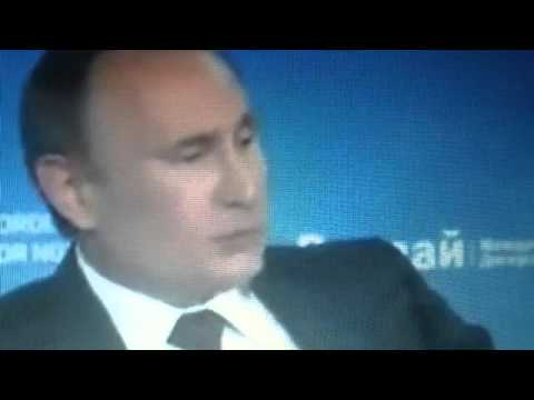 Russian Leader Putin Speech Banned in the U.S.