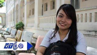 Cô gái nhận học bổng 7 tỉ 'trên đường' xuất ngoại | VTC