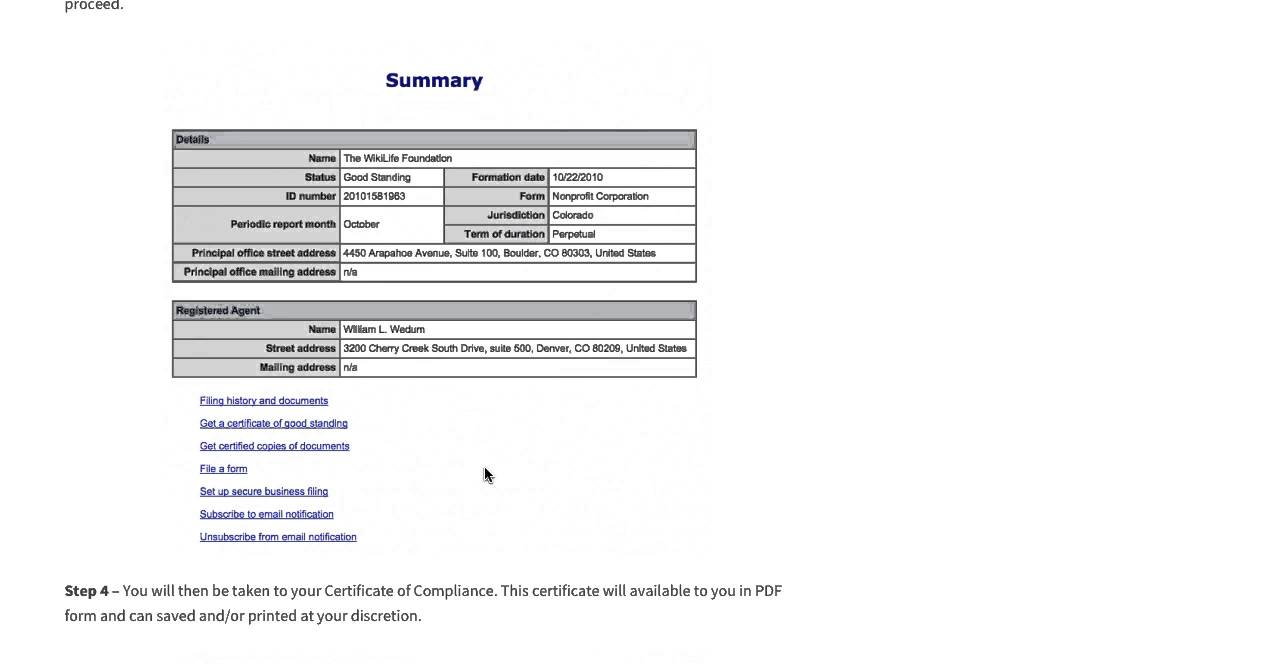 How to get a certificate of compliance good standing in colorado how to get a certificate of compliance good standing in colorado online 1betcityfo Images