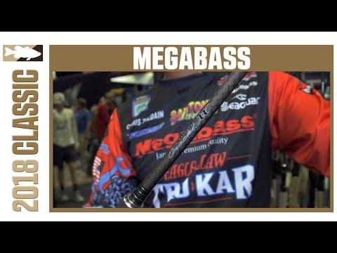 New Megabass Orochi Rods With Chris Zaldain | 2018 Bassmaster Classic