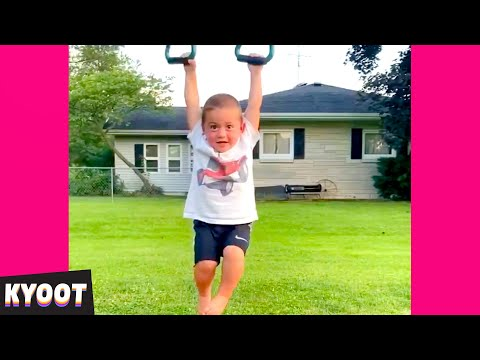 FAILING in the Summer Sun 🤣 | Baby Cute Funny Moments | Kyoot