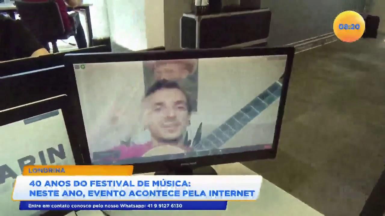 40 Anos Do Festival De Música Neste Ano Evento Acontece Pela Internet Youtube