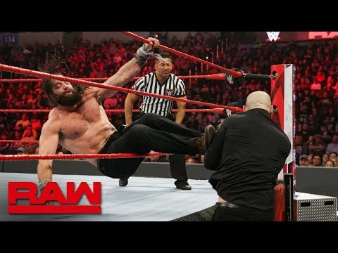 Elias vs. Baron Corbin: Raw, Jan. 21, 2019