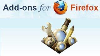 видео Дополнения для Firefox - лучшие плагины (расширения) Mozilla