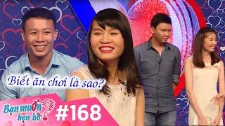 BẠN MUỐN HẸN HÒ - Tập 168 | Văn Linh - Nguyễn Thư | Tuấn Anh - Hải Yến | 16/05/2016
