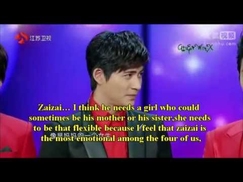 [Eng Sub] On-stage Interview F4 Reunion at Jiangsu TV's Spring Festival 2013