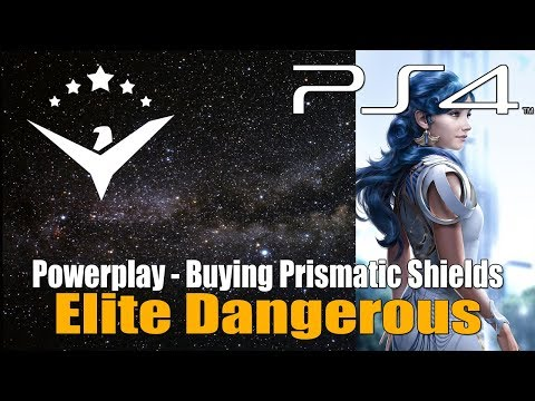 Elite Dangerous - Buying And Upgrading The Prismatic Shields