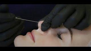 Видео. Мастер-класс от Елены Байбариной. Коррекция носа.