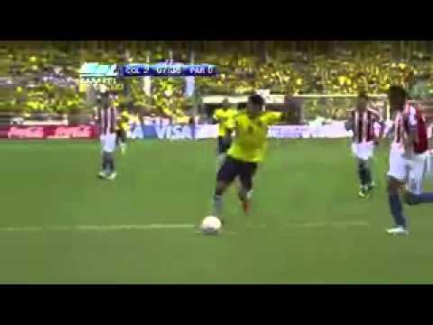Colombia 2 Paraguay 0 Goles de Radamel Falcao García. 12/10/2012