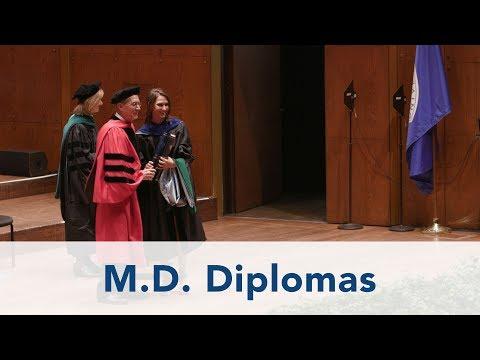 Commencement 2017, 6 of 7: M.D. Diplomas