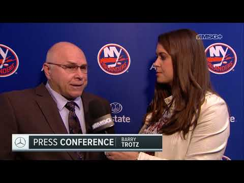 Barry Trotz: We Should Have Gotten a Point | New York Islanders | MSG Networks