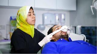 ان كنت تعاني من الخوف الشديد من طبيب الأسنان .. فلك هذا الفيديو