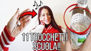 11 INCREDIBILI TRUCCHETTI E DIY'S PER LA SCUOLA! SCHOOL LIFE HACKS BACK TO SCHOOL ANITA STORIES