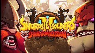 A DRUNKEN RAID WE RIDE!! - Swords and Soldiers 2 Gameplay Impressions
